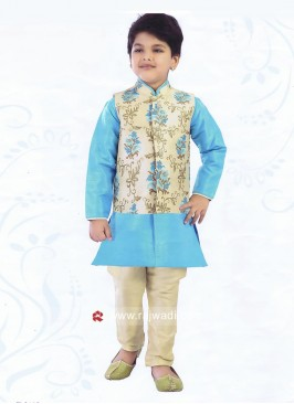 Beautiful Art Silk Nehru Jacket