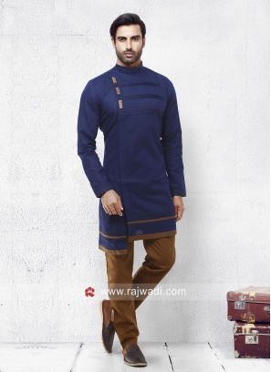 Beautiful Blue Pathani Set