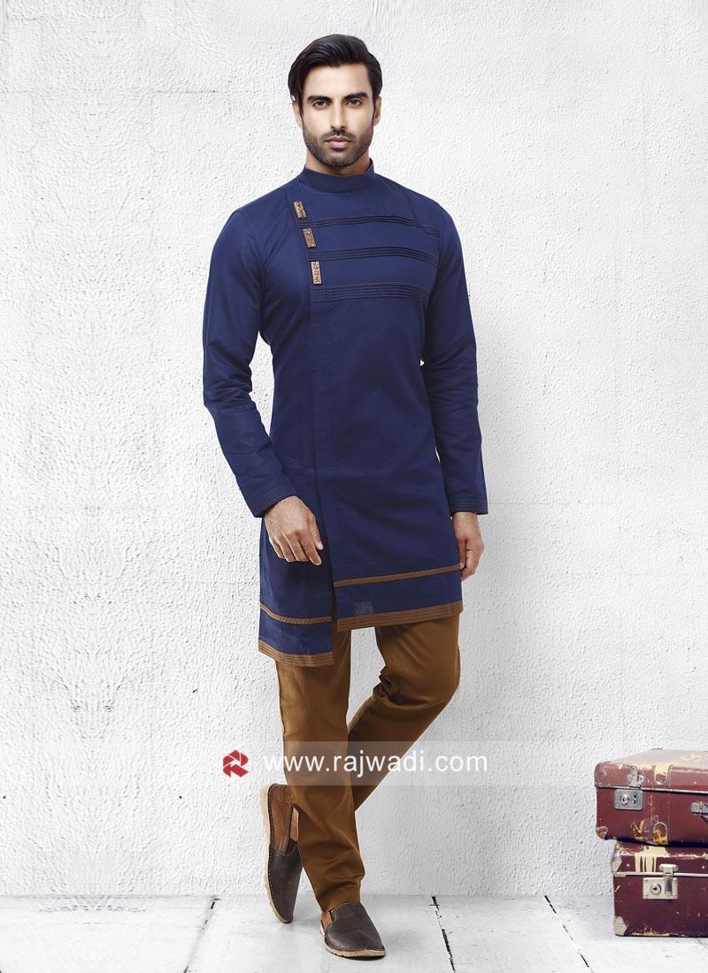 Beautiful Blue Pathani Set