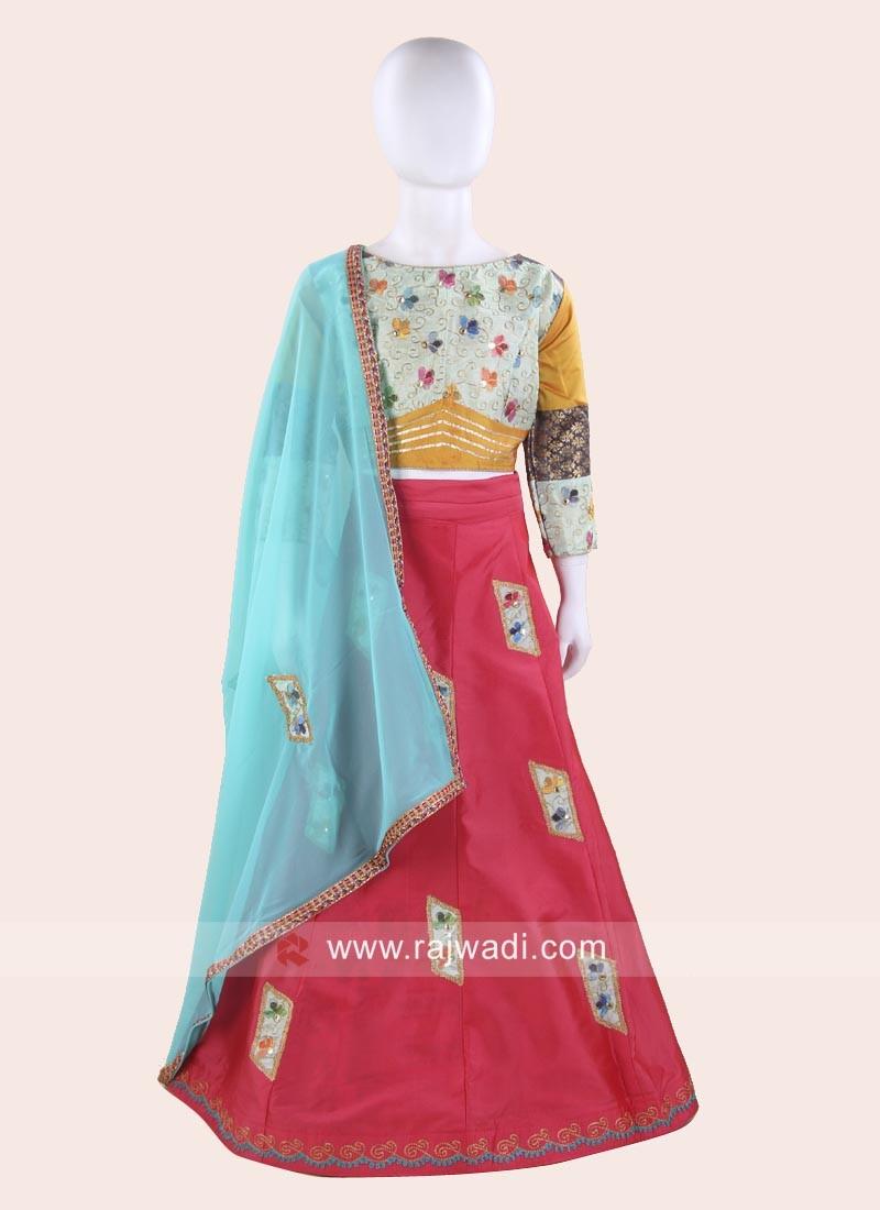 Beautiful Chaniya Choli for Kids