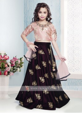 Beautiful Choli Suit For Girls