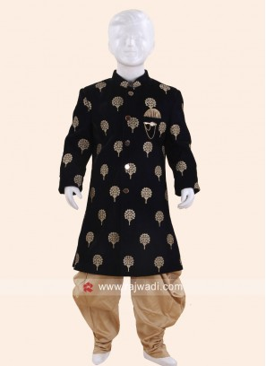 Beautiful Navy Indo Western For Kids