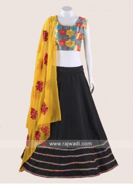 Beautiful Flower Print Chania Choli