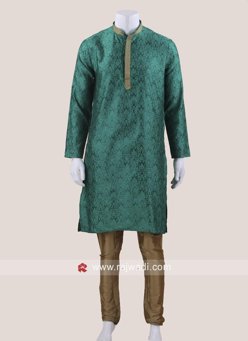 Beautiful Green Color Kurta Set