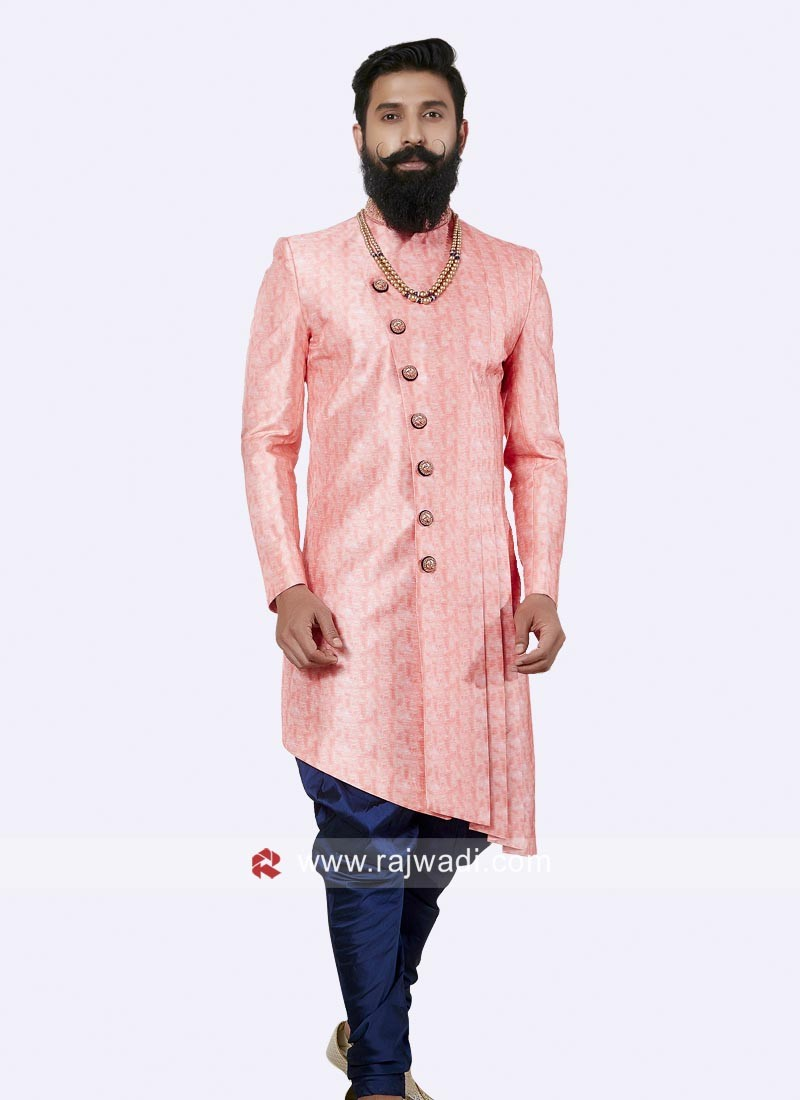 Beautiful Indo Western in Pink Color