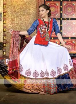Beautiful kutchi work garba chaniya choli