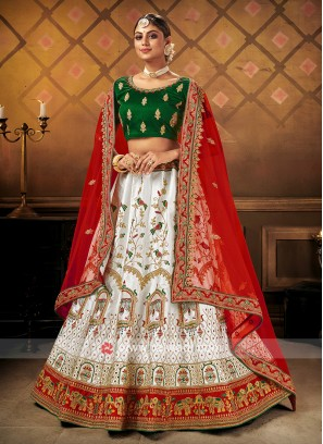Beautiful Lehenga Choli For Bride