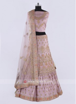 Beautiful Light Pink Lehenga Choli