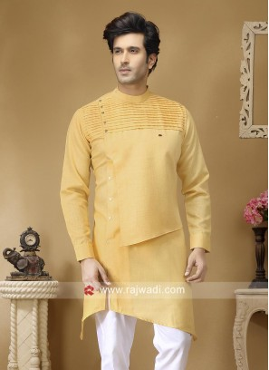 Beautiful Pineapple Yellow Kurta