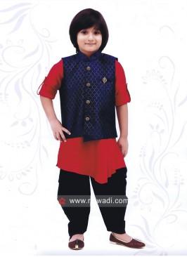Beautiful Silk Fabric Indo Western