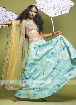 Beautiful Silk Lehenga Choli