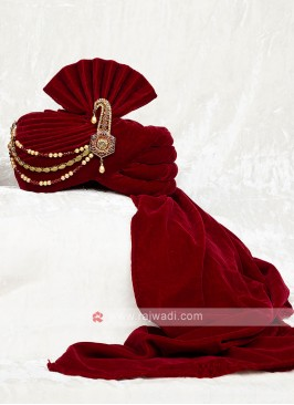Beautiful Velvet Wedding Safa