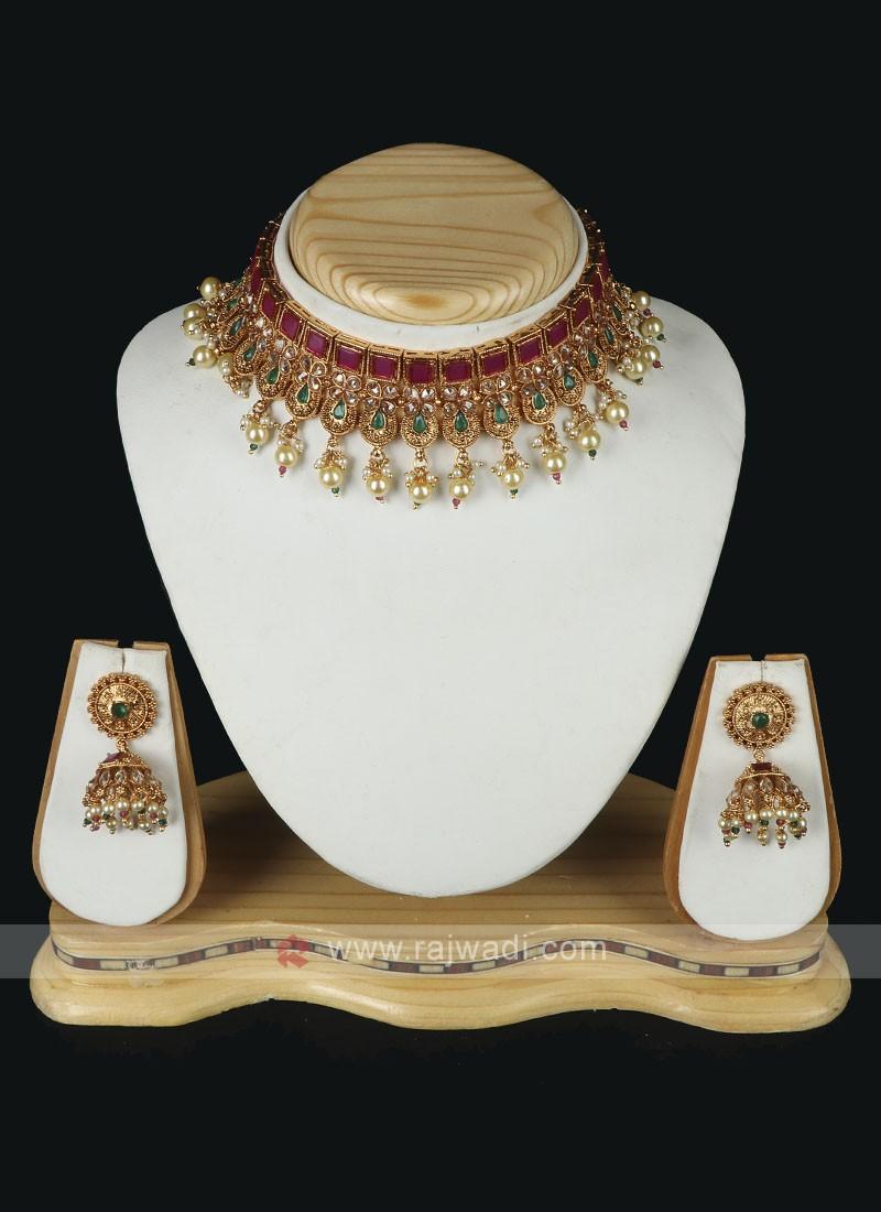 Beautiful Wedding Necklace Set