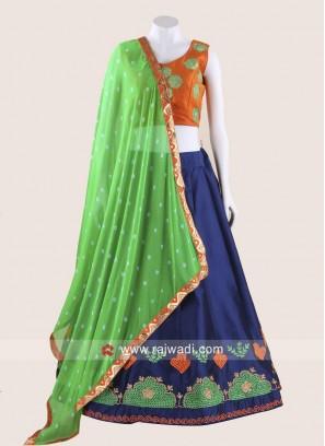 Beautiful Zari & Resham Work Chaniya Choli