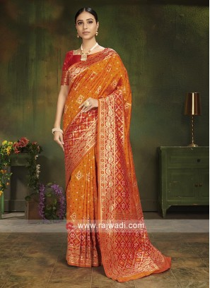 Beautiful Zari Woven Saree