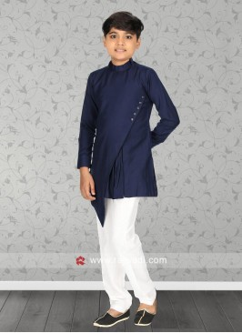 Attractive Blue Color Kurta Set