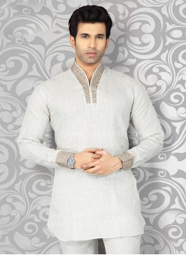 Beige Colored Kurta