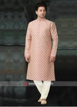 Charming Peach Color Kurta Pajama