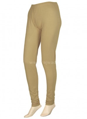 Beige coloured Leggings Online