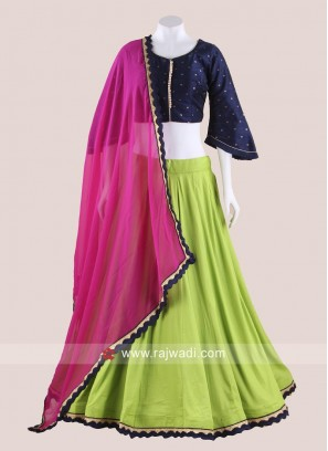 Bell Sleeved Chaniya Choli for Navratri