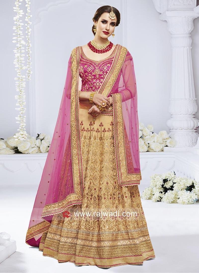 Bhagalpuri Silk Heavy Lehenga Choli