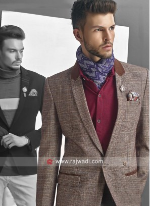 Party Wear Imported Fabric Blazer