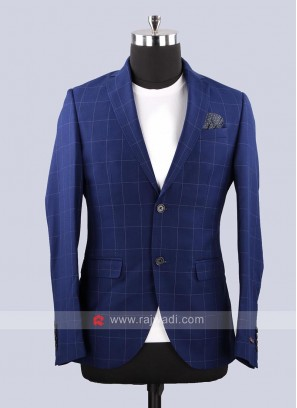 Black Berry Navy Color Blazer