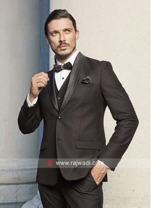 Black Color Imported Suit
