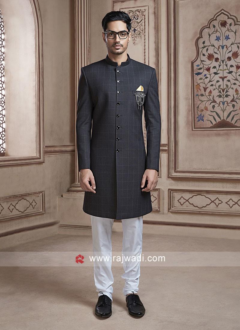 Black Color Indo Western