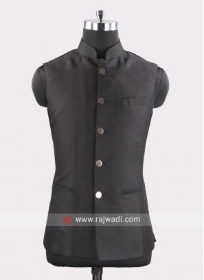 Black Color Koti For Mens