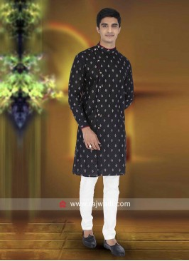 Black Color Kurta Pajama