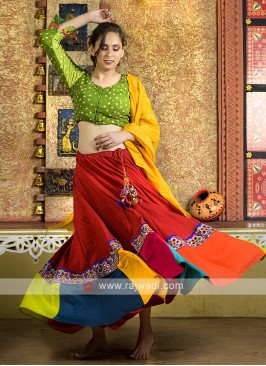 Traditional work navratri chaniya choli