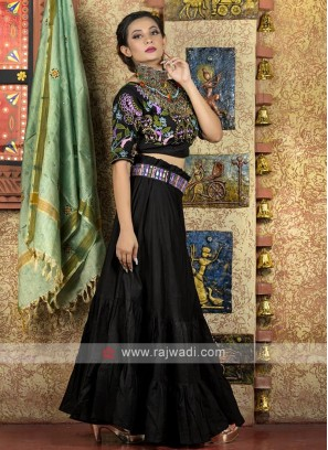 Black color navratri chaniya choli