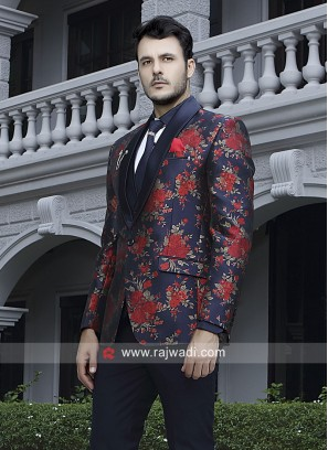 Navy Color Stylish Suit