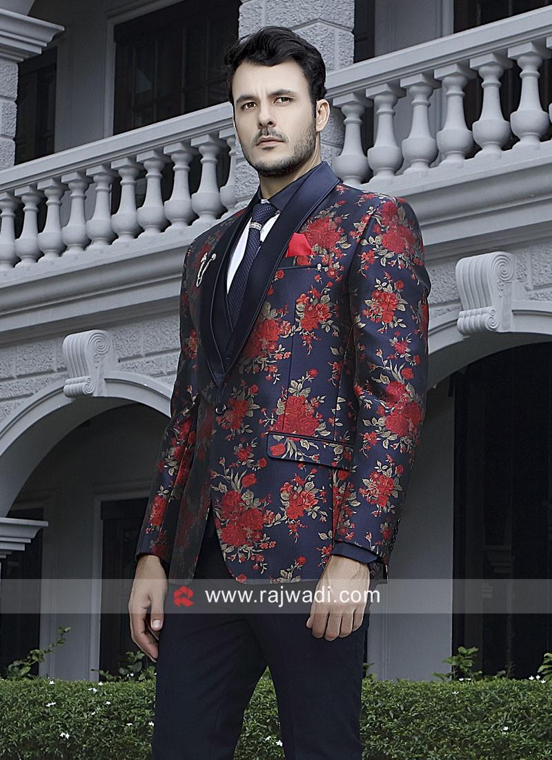 Navy Color Stylish Suit