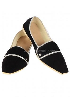 Black colour Mojari for Men