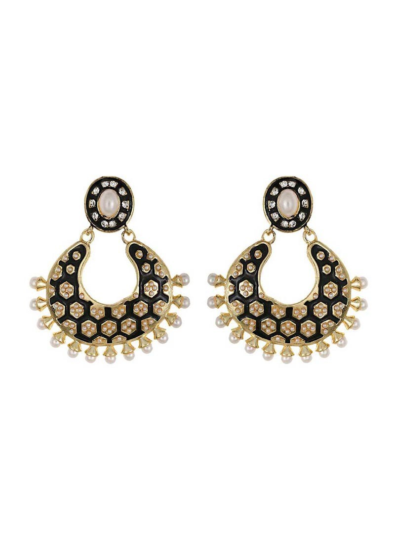 Black Designer Earring