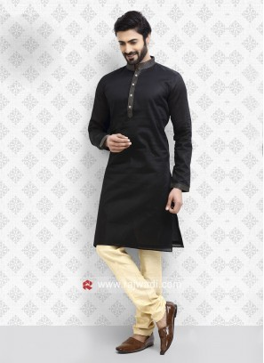 Black Kurta Pajama For Party