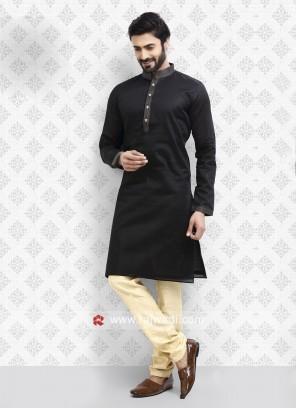 Black Kurta Pajama For Party