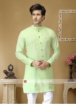Light Pista Kurta For Party