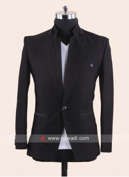 Black Party Wear Blazer