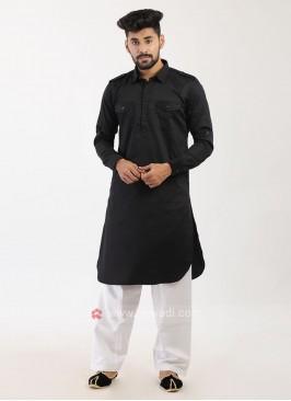 Black Pathani Suit
