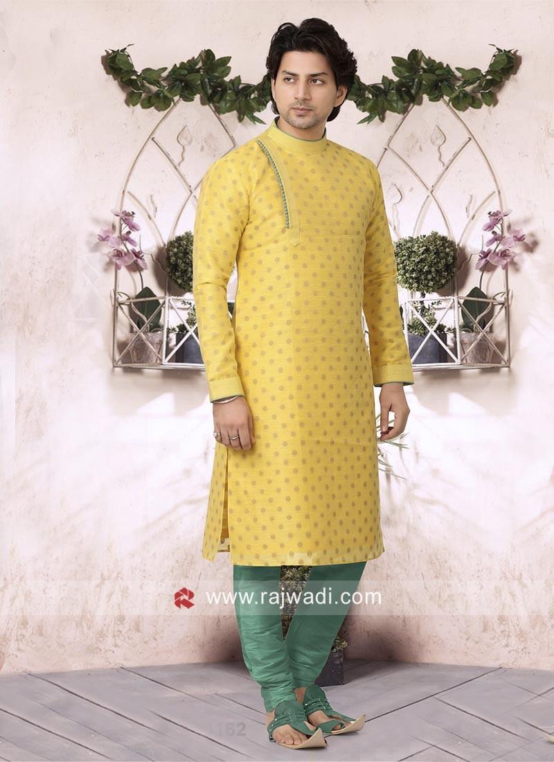 Yellow Kurta Set For Wedding