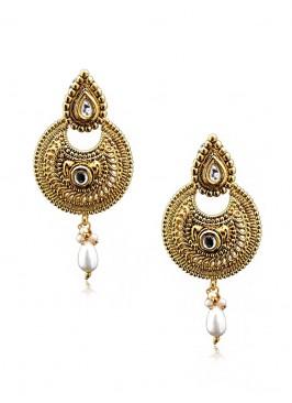Blinking Golden Drop Earring