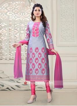 Block Print Designer Salwar Suit