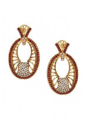 Blooming Crystal Ravishing Earrings