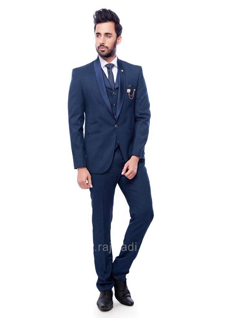 Blue Color imported Suit