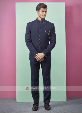 Blue Color Jodhpuri Suit