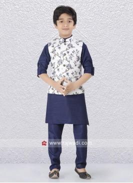Blue Color Koti Set For Kids