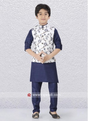 Blue Color Koti Set For Kids